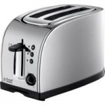 RUSSELL HOBBS Texas 18096 2-Slice Toaster – Stainless Steel, Stainless Steel