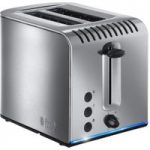 RUSSELL HOBBS Buckingham 20740 2-Slice Toaster – Stainless Steel, Stainless Steel