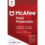 MCAFEE Total Protection – 1 user / 7 devices for 1 year