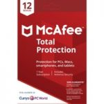 MCAFEE Total Protection – 1 user / 12 devices for 1 year