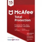 MCAFEE Total Protection – 1 user / 15 devices for 1 year