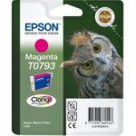 EPSON T0793 Owl Magenta Ink Cartridge, Magenta
