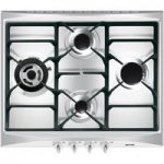 SMEG SR264XGH Gas Hob – Stainless Steel, Stainless Steel