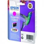 EPSON T0803 Hummingbird Magenta Ink Cartridge, Magenta