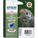 EPSON T0796 Owl Light Magenta Ink Cartridge, Magenta