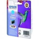 EPSON T0802 Hummingbird Cyan Ink Cartridge, Cyan