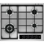 AEG HG65SY4551 Gas Hob – Stainless Steel, Stainless Steel