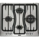ZANUSSI ZGX66424XS Gas Hob – Stainless Steel, Stainless Steel