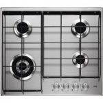 AEG HG644351SM Gas Hob – Stainless Steel, Stainless Steel