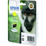 EPSON Monkey T0894 Yellow Ink Cartridge, Yellow