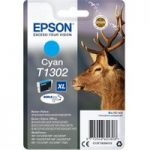 EPSON Stag T1302 Cyan Ink Cartridge, Cyan