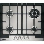 ZANUSSI ZGG66424XS Gas Hob – Stainless Steel, Stainless Steel
