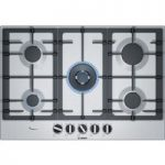 BOSCH PCQ7A5B90 Gas Hob – Stainless Steel, Stainless Steel