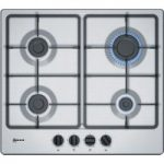 NEFF T26BB46N0 Gas Hob – Stainless Steel, Stainless Steel