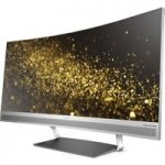 HP ENVY 34 WQHD 34″ Curved LED Monitor – Black & Silver, Black