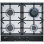 NEFF T26DA59N0 Gas Hob – Stainless Steel, Stainless Steel
