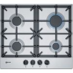 NEFF T26DS49N0 Gas Hob – Stainless Steel, Stainless Steel