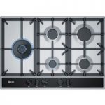 NEFF T27DA79N0 Gas Hob – Stainless Steel, Stainless Steel