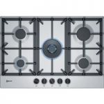 NEFF T27DS59N0 Gas Hob – Stainless Steel, Stainless Steel