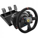 THRUSTMASTER T300 Ferrari Integral RW Alcantara Racing Wheel – Black, Black