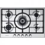 KENWOOD KHG705SS Gas Hob – Stainless Steel, Stainless Steel