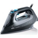 BRAUN TexStyle 9 SI9188BK Steam Iron – Black, Braun