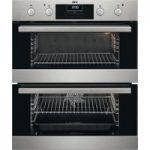 AEG DUS331110M Electric Built-under Double Oven – Stainless Steel, Stainless Steel