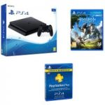 PLAYSTATION 4 PLAYSTATION 4 Slim, Horizon Zero Dawn & 3 Month PlayStation Plus Subscription Bundle