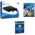 PLAYSTATION 4 PLAYSTATION 4 Slim, Horizon Zero Dawn & 3 Month PlayStation Plus Subscription Bundle