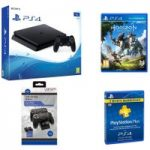 PLAYSTATION 4 PLAYSTATION 4 Slim, Horizon Zero Dawn & Accessories Bundle