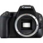 CANON EOS 200D DSLR Camera – Black, Body Only, Black