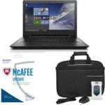 LENOVO IdeaPad 110 15.6″ Laptop, LiveSafe Unlimited 2017 & Accessories Bundle