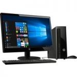 HP 260-a104na Desktop PC & 22KD Full HD 21.5″ LED Monitor