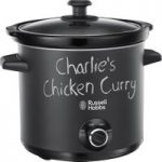 RUSSELL HOBBS Chalk Board 24180 Slow Cooker – Black, Black