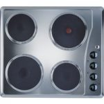 INDESIT TI 60 X Electric Solid Plate Hob – Silver, Silver