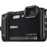 NIKON COOLPIX W300 Tough Compact Camera – Black, Black