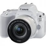 CANON EOS 200D DSLR Camera with EF-S 18-55 mm f/4-5.6 DC Lens – White, White
