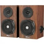 TRUST Vigor 2.0 PC Speakers – Brown, Brown