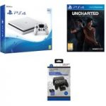 SONY PlayStation 4 Slim, Uncharted: The Lost Legacy & Docking Station Bundle – 500 GB