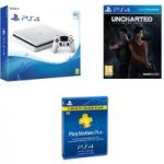 SONY PlayStation 4 Slim, Uncharted: The Lost Legacy & PS Plus Bundle – 500 GB