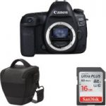 CANON EOS 5D Mark IV DSLR Camera, Memory Card & Bag Bundle