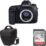 CANON EOS 5D Mark IV DSLR Camera, Memory Card & Bag Bundle