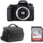 CANON EOS 77D DSLR Camera, Memory Card & Bag Bundle