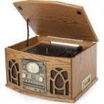ITEK I60019 Classic 5-in-1 Music System – Walnut