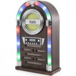 ITEK Jukebox I60018CD Wireless Hi-Fi System – Wood Finish