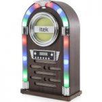 ITEK Jukebox I60018CD Wireless Hi-Fi System – Wood Finish