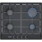BOSCH Avantixx PCP616B90E Gas Hob – Black, Black