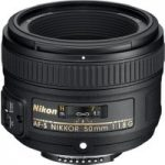 NIKON AF-S NIKKOR 50 mm f/1.8 Standard Prime Lens