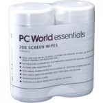 ESSENTIALS PSW20012 Screen Wipes – 2 packs of 100