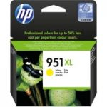 HP 951XL Yellow Ink Cartridge, Yellow